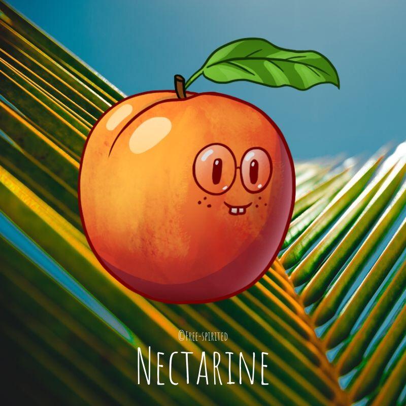 Free-spirited-fruits-légumes-saison-juillet-Nectarine