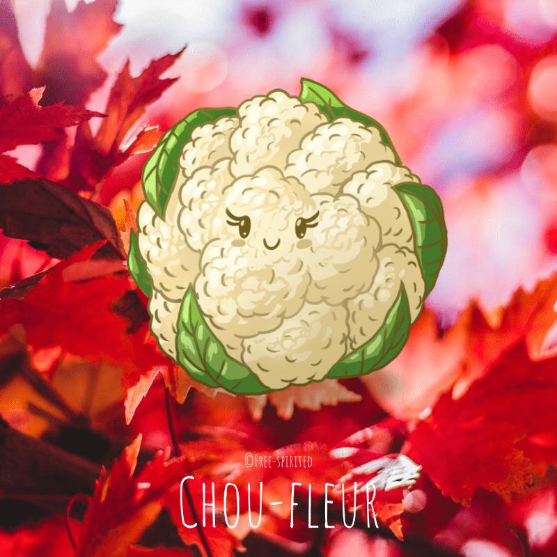 Free-spirited-fruits-légumes-saison-bio-responsable-écologie-septembre-Chou-fleur